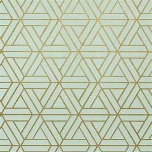 Papier Peint Motif Geometrique : papier peint de la maison thibaut au motif g om trique ~ Dailycaller-alerts.com Idées de Décoration
