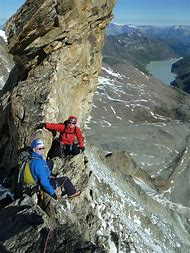 Alpine Mountain Climbing