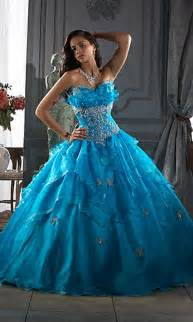 blue wedding dress with gown - Blue Wedding Gown
