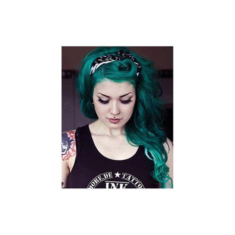 Renbow Crazy Colour Semi Permanent Hair Dye Emerald Green