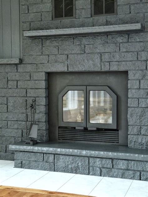dans le lakehouse fireplace before after color behr quot evening hush quot satin fireplace ideas