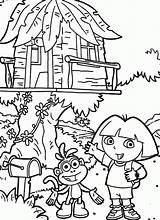Coloring Treehouse Tree Ausmalbilder Kleurplaat Baumhaus Boomhutten Colouring Magic Kleurplaten Malvorlage Malvorlagen Doras Popular Pdf Zo Coloringhome Stimmen Stemmen sketch template