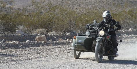 Ural Gear Up Backgrounds by La Barstow Vegas On A 2wd Ural Rider Magazine