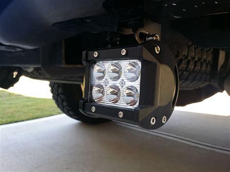 how to install rear f150 cree led light bars