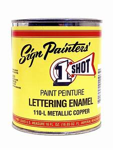 one shot pinstriping paint color chart paint color ideas With ronan lettering enamel