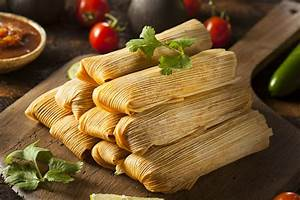Alicia's homemade tamales are a must have for any Tex Mex