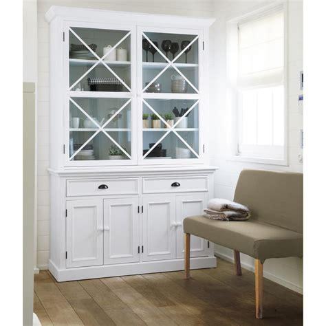 caisson bureau occasion vaisselier bois blanc