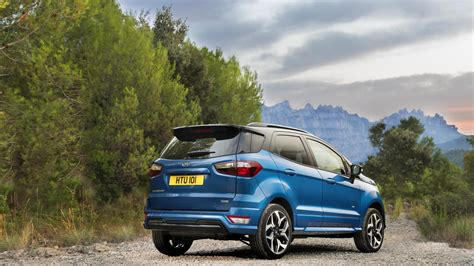 Ford Ecosport Facelift Revealed With Sporty Stline Option