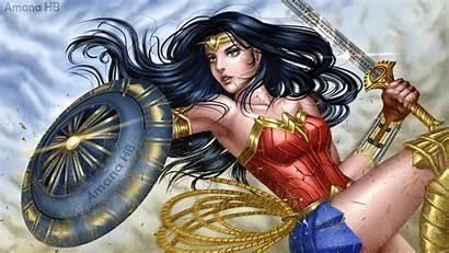 Wonder Woman Wallpapers Anime Deviantart Prints Film