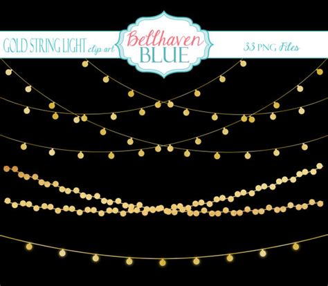 String Lights Clipart by Free String Lights Clipart No Background Collection