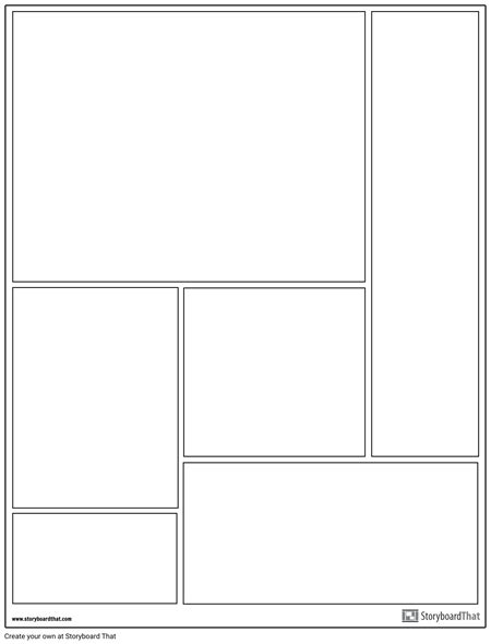 create a graphic novel template graphic novel layouts