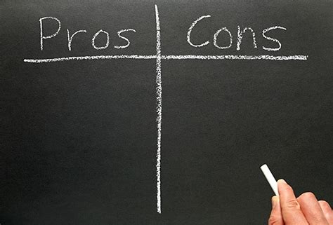 » Pros And Cons
