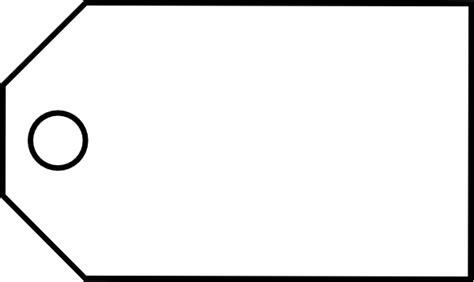 totetude blank price tag clip art  clkercom vector