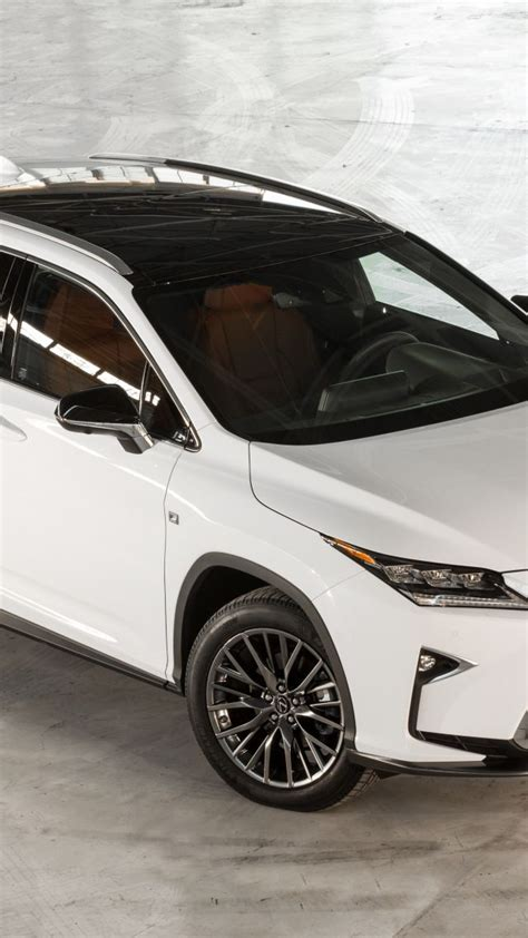 Wallpaper Lexus Rx 350, Supercar, White, Luxury Cars, Test