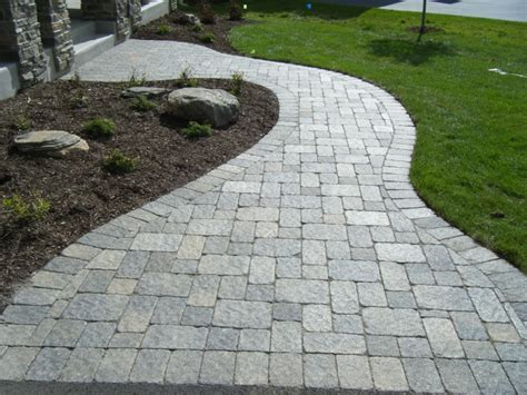 pictures of walkways with pavers walkways
