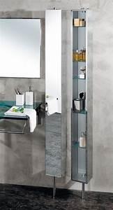 Miroir Étagère Salle De Bain : colonne salle de bains un meuble l gant et fonctionnel ~ Melissatoandfro.com Idées de Décoration