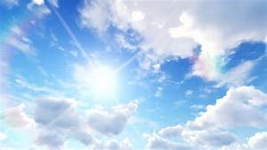 Clouds And Sun, Blue Sky Stock Footage Video 1107211 ...