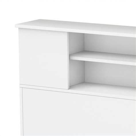 white queen bookcase headboard south shore breakwater full queen bookcase headboard in