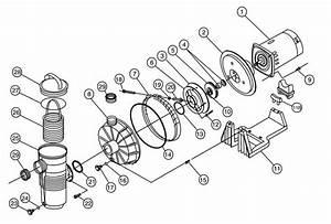 Pentair 346204 Challenger Pump 1hp Ur Hh 115  230v Parts