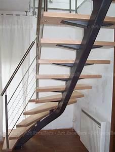 Escalier 4 Marches : mastro escalier limon central art escaliers ~ Melissatoandfro.com Idées de Décoration