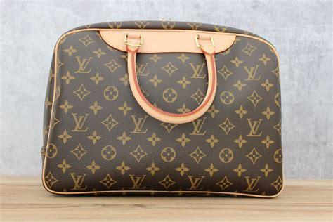 louis vuitton deauville monogram travel bag