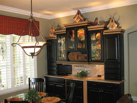 black schuler hutch traditional dining room orlando