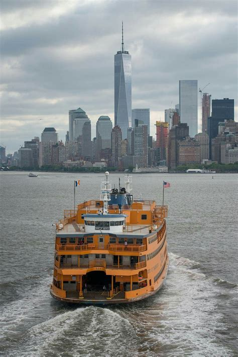 Ferry Boat Ride To Statue Of Liberty by Nyc Ferry Boat Rode It To Go Our To The Statue Of Liberty