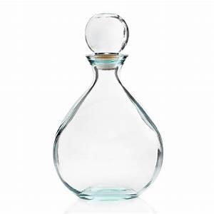 Carafe En Verre : 1 carafe bouteille omar 34 cm de haut bouchon en verre mcm emballages ~ Teatrodelosmanantiales.com Idées de Décoration