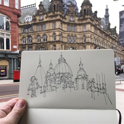 buildings drawings illustrations art artists aesthetics