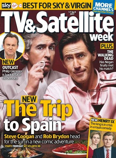 tv magazine gratuit tv satellite week magazine 1st april 2017 subscriptions pocketmags