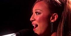 'X Factor' Top 5 Melanie Amaro Performs Whitney Houston ...