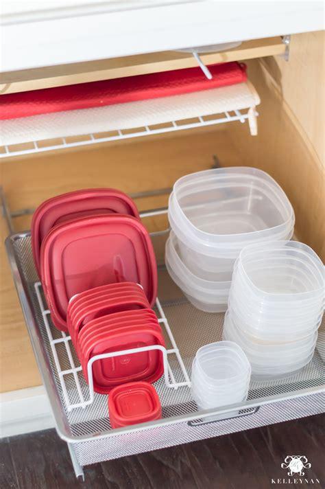 Organization Ideas For A Kitchen Cabinet Overhaul  Kelley Nan