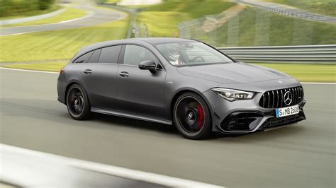 mercedes amg cla  shooting brake revealed