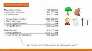 Herstellkosten Des Umsatzes Berechnen : 10 3 4 herstellkosten der erzeugung und herstellkosten des ~ Themetempest.com Abrechnung