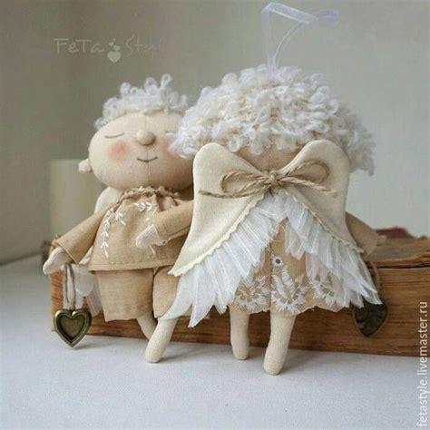 anjos images  pinterest fabric dolls feltro