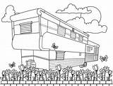 Mobile Homes sketch template