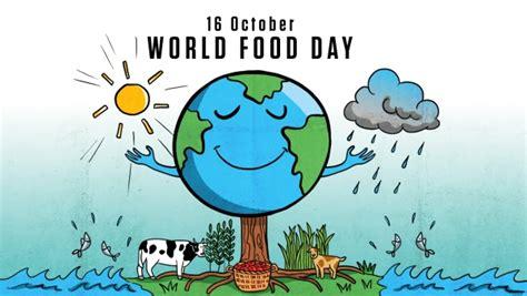 world food day printable calendar templates