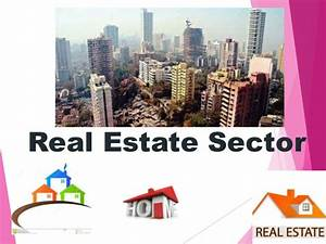 Sapm group 2 ppt - real estate sector
