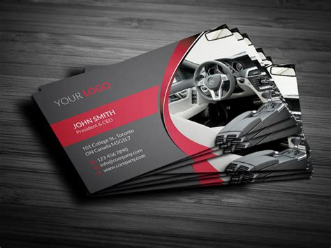 cool taxi business card templates design freebies