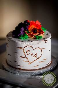 Picture Of pretty one tier wedding cakes to get inspired 27