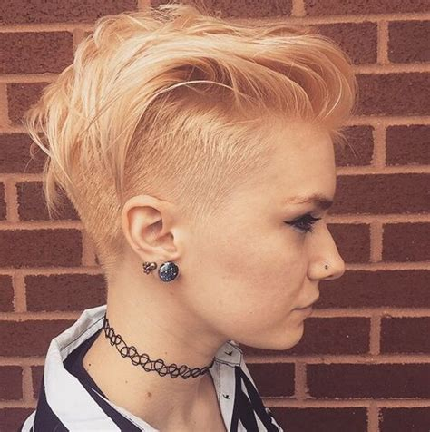 lovely short hairstyles  rock  summer ecstasycoffee