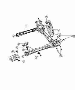 2014 Chrysler Town  U0026 Country Bushing  Control Arm