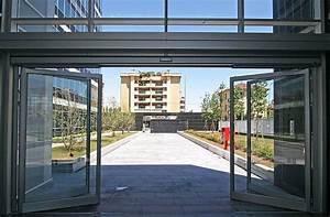 porte automatique coulissante a ouverture integrale With ouverture porte garage automatique