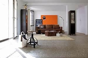 Style Industriel Salon : salon style industriel ~ Teatrodelosmanantiales.com Idées de Décoration