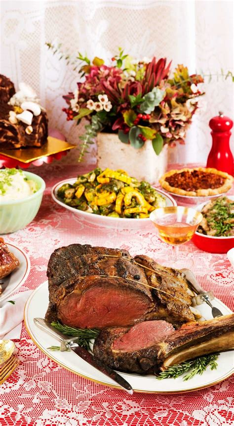 Try these winning side dishes that will go perfectly with the meat at your next special occasion meal. 21 Of the Best Ideas for Prime Rib Christmas Dinner Menu ...