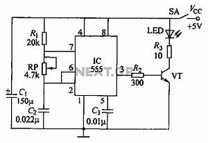 infrared circuit page 2 light laser led circuits nextgr With lamp pulser circuit