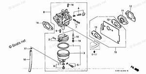 Honda Small Engine Parts Gc160 Oem Parts Diagram For Carburetor