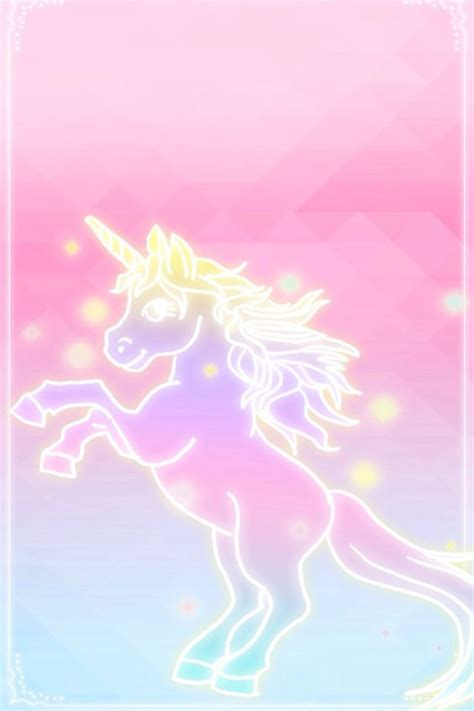 Iphone Home Screen Unicorn Wallpaper by Unicorn Pink Fades To Blue Wallpaper Iphone Background