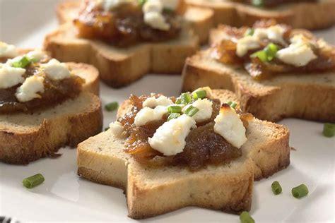 canapé toast sandwich bread canapés recipe king arthur flour