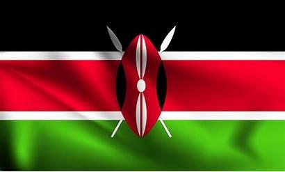 Kenya Flag 3d Vector Waving Premium Vectors